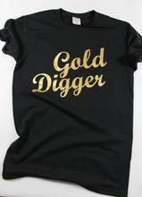 Sugarbaby футболка золотого экскаватора женская одежда женские