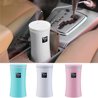 230ML USB Car Air Freshener Humidifier Ultrasonic Humidifier Aroma Essential Oil Diffuser Aromatherapy Mist Maker Home