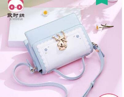 Princess sweet lolita Shoulder bag summer and spring Korean Edition casual Single Shoulder Handbag printing women 171871 jocelyn parks unistuste purje all