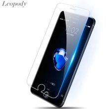 9H tempered glass For iphone 4s 5 5s 5c SE 6 6s plus 7 plus screen protector protective guard film front case cover +clean kits стоимость