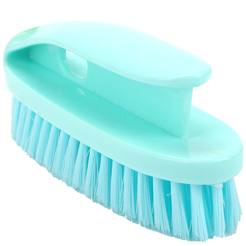Plastic Soft Hair Cleaning Brush Household Multifunction Clothes/Shoes/Floor/Bathtub/Pool Scrubbing Brush with Handle 5Pcs/Lot