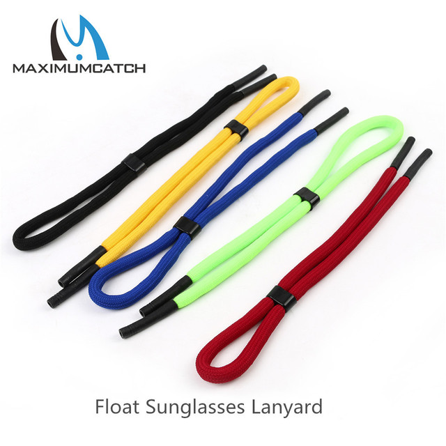 d4c5954087be Maximumcatch Float Sunglasses Lanyard Light Weaving Thread Neck Cord Multi  Color Eyewear Strap Cord Fishing Accessory