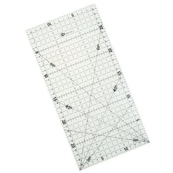 1 Pc 30 * 15 Cm Patchwork Ruler  Quilting Tools High Grade Acrylic Material Transparent Ruler Scale School Supplie