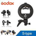 Godox S-Type Pro Bracket S Mount Holder Bowens for Speedlite Flash Snoot Softbox Beauty Dish Honeycomb