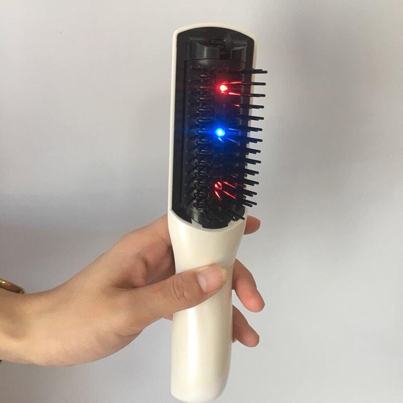 Diszipliniert Elektrische Laser Kamm Therapie Fördern Haar Wachstum Massage Ausrüstung Stop Haarausfall Behandlung Pinsel Produkt Männer Weihnachten Geburtstag Geschenk Ausreichende Versorgung