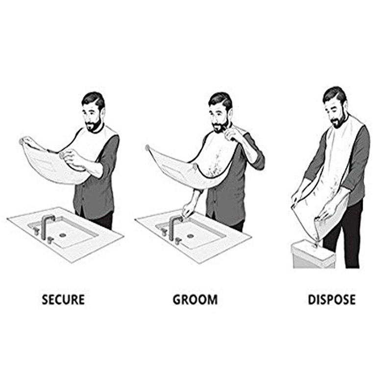 Pongee-Beard-Care-Shave-Apron-Bib-Trimmer-Clean-Facial-Hair-Cape-Sink-Bathroom-Shelves-Waterproof-Floral (4)