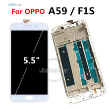 5.5 Display For OPPO F1S LCD With Touch Screen Display+frame Digitizer Replacement Parts for oppo A59 f1s A1601 lcd