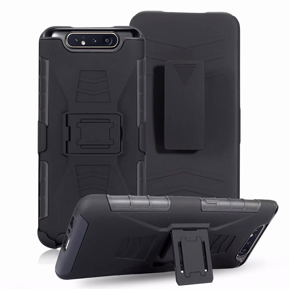 Heavy Duty Rugged Carrying Belt Clip Holster Armor <font><b>Case</b></font> Cover sfor <font><b>Samsung</b></font> A70 A80 A90 <font><b>A20E</b></font> M10 M20 M30 <font><b>Shockproof</b></font> Phone Coque image
