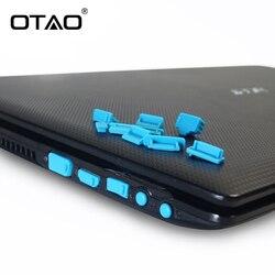 13Pcs/set For Macbook Anti Dust Plug Laptop Cover Protective Stopper dust plug laptop dustproof usb Computer Accessories