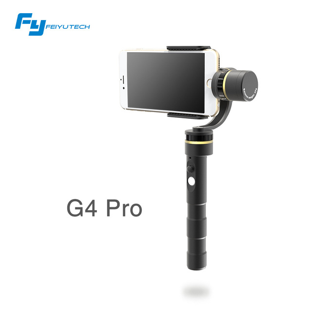 FeiyuTech G4 Pro 3 axis brushless handheld pan 360 degree moving limitless Smartphone stalizer gimbal