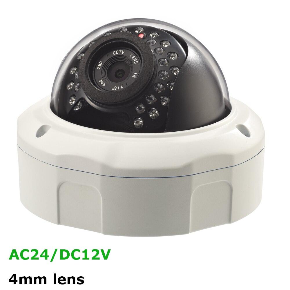 ᗑAC24/DC12V 1080p @ 25fps HD al aire libre anti-vándalo ONVIF ...
