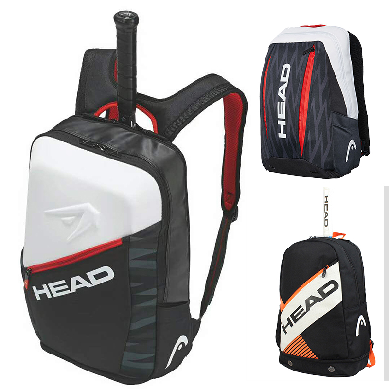 Head Tennis Racket Bag Djokovic Tenis Backpack For Men Women Squash Racquet Sports Bagpack Hold 2 Rackets Mochila Deportiva