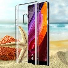 Для Xiaomi Mix Чехол, IMAK Кристалл II Прозрачный Защитный PC Трудный Случай Крышки Для Xiaomi Ми Смешивания Смешивания 6.4 inch Мобильный Телефон Оболочки