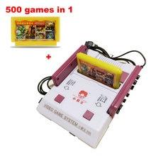 Subor d99 향수 원래 비디오 게임 콘솔 플레이어 500 게임 카드 tv 게임 플레이어 승/원래 소매 상자