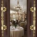 300mm high quality gold wood door handles silver wood door pulls  zinc alloy home ,KTV  office hotel wood door handles