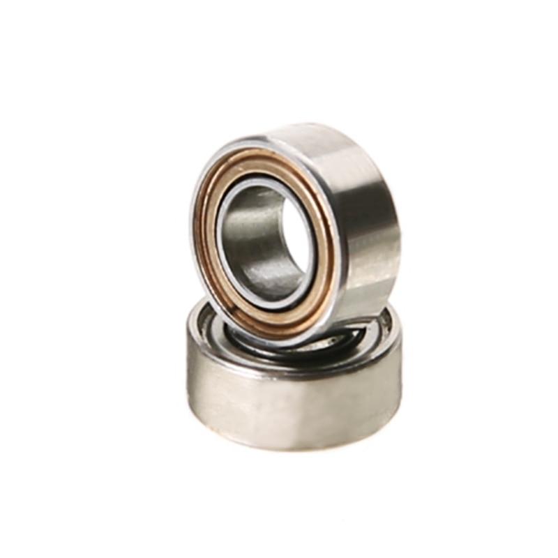 10 PCS MR63ZZ Ball Bearing Mayitr Brand New Miniature Deep groove Ball Bearings 3mm*6mm*2.5mm High Precision Roller Bearings 6003 zz p5 z2 motor bearings for high speed precision cnc machine tool bearings deep groove ball bearing seals