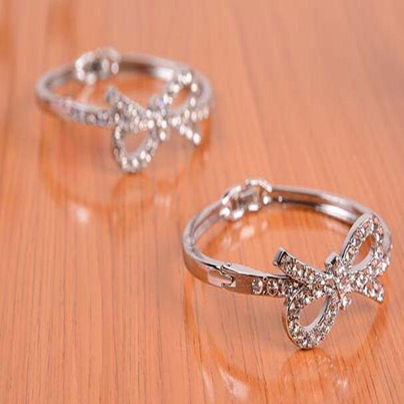 LC/_ HK FEMMES NEUF à la mode perles strass bracelet élastique manchette