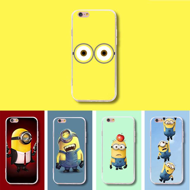 New Fashion Despicable Me Silicone TPU Phone Case