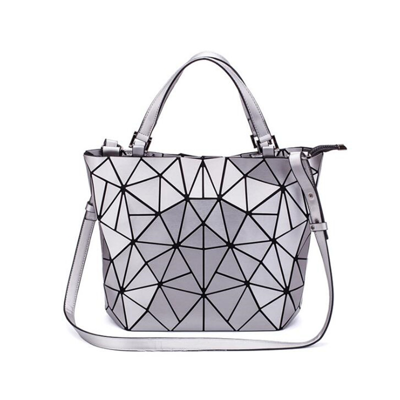 Woman 2019 Fashion Bao Bags Geometric Message Bag Crossbody Bags Handbag Clutch Sac A Main Beach Bag Bolso Mujer Handbags Silver