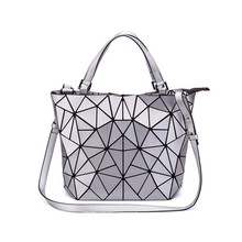 Woman 2019 Fashion Bao Bags Geometric Message Bag Crossbody Bags Handbag Clutch Sac a Main Beach Bag bolso mujer Handbags Silver цена 2017