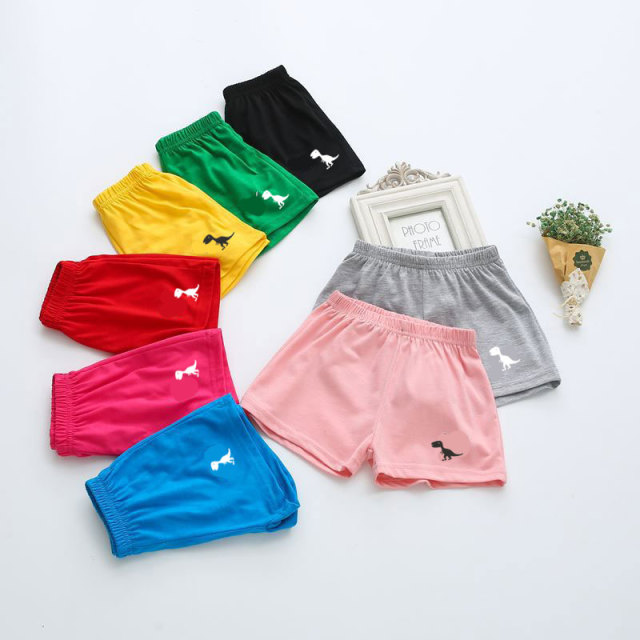 Girls' Casual Bright Cotton Shorts