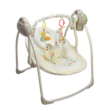 Free shipping electric baby swing chair musical baby bouncer swing newborn baby swings automatic baby swing rocker large size(China)