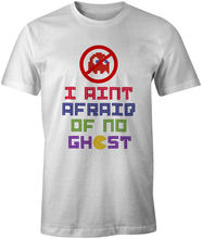 I Ain't Afraid Of No Ghost Gamer Gaming Tee T-Shirt Printed Men Hip Hop Clothing Cotton Short Sleeve T Shirt Men Lastest