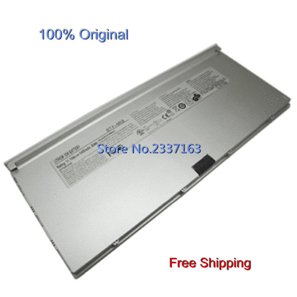IECWANX 100% new Laptop Battery Bty-m69 (11.1V 60WH 5400mAh) for MSI X-slim X600 X610 15.6 Inch Series Nbpc623a