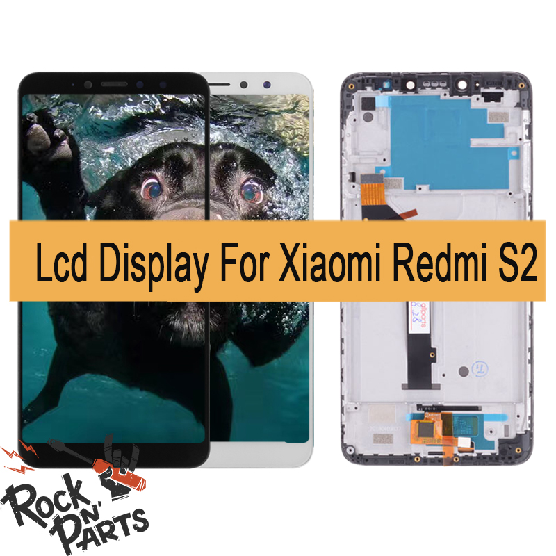 <font><b>5</b></font>,<font><b>99</b></font> inch For <font><b>Xiaomi</b></font> <font><b>Redmi</b></font> S2 LCD Touch Screen Digitizer LCD Display Touch Screen Assembly Replacement with frame image