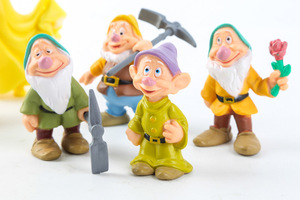 Image 3 - 8 Pcs/set Snow White and the Seven Dwarfs Action Figure Toys 6 10cm Princess PVC dolls collection toys for kids birthday gift
