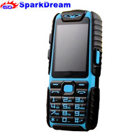 WaterProof A6 Rugged Power Bank Phone With 2.4 TFT Shockproof Loud Speaker Strong Flashlight Dual SIM Senior Outdoor Phone