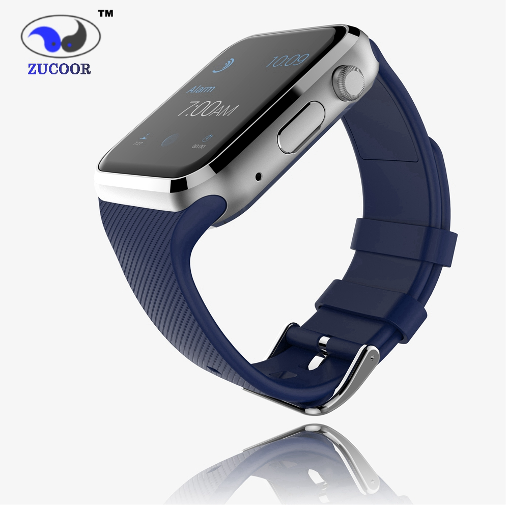 2016 ZW19 Smart Intelligent Watch Connected Android Clock Smartwach Smart Wristwatch Phone Support SIM Card with