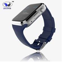 2016 ZW19 Smartwach Conectar Android Reloj Inteligente Reloj Inteligente Tarjeta de la Ayuda SIM Inteligente Reloj Teléfono con Cámara PK DZ09