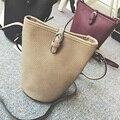 High Quality Women Bucket Bag 2016 New Girls Small Shoulder Bag Solid Crossbody for Women Brand Bag bolsa feminina