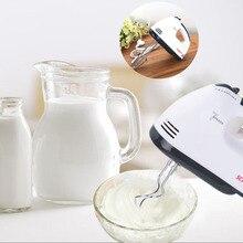 7 Geschwindigkeiten Handmixer 180 Watt Weiß Schneebesen Elektrischen Mixer Eu-stecker Küche Lieferant 1 stücke Hohe Qualität Schneebesen Elektrische Mixer