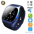 Bluetooth smart watch m26 smartwatch com display led barómetro alitmeter music player pedômetro para ios android xiaomi telefone