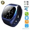 Bluetooth smartwatch Smart Watch M26 со СВЕТОДИОДНЫМ Дисплеем Барометр Alitmeter Плеера Шагомер для Android IOS XiaoMi Телефон