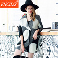 Chegada nova Moda Mulheres Trench Coat Outono e Inverno Outerwear Casacos de Senhora Listrado Blusão Casaco Curto F110