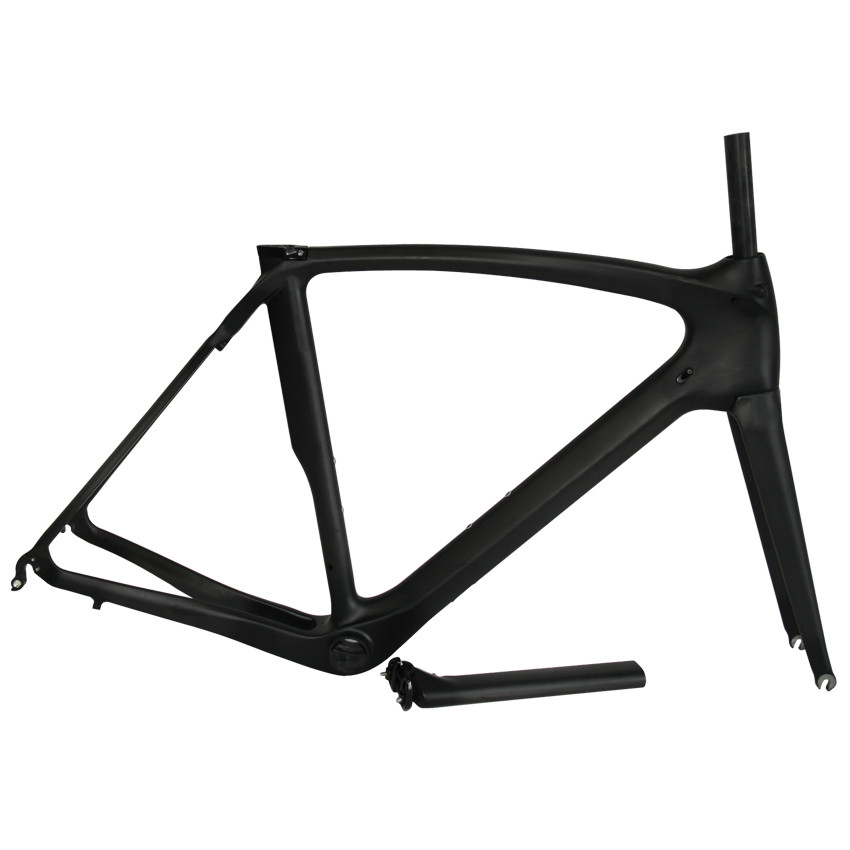 Smileteam 2017 New Design Full Carbon Road Bike Frame Racing Bicycle Carbon Frameset With Fork + Seatpost + Headset+ BB386+Clamp hammock hanging belt tree strap nylon rope outdoor camping tool with buckles store 207