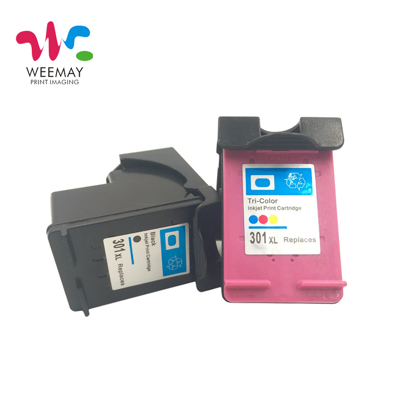 1set 301XL INK cartridge Replacement for HP 301XL hp301 Deskjet 1000 1050 2050 3050 2150 3000 <font><b>3052</b></font> 3054 image