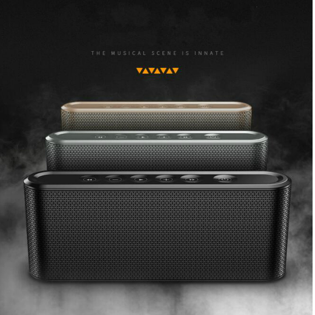Mini OEM wireless touch control bluetooth speaker portable  music player Boom box sound system with Fm radio