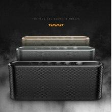 Mini sistema de som portátil da caixa do crescimento do jogador de música do orador de bluetooth do controle sem fio do toque do oem com rádio de fm