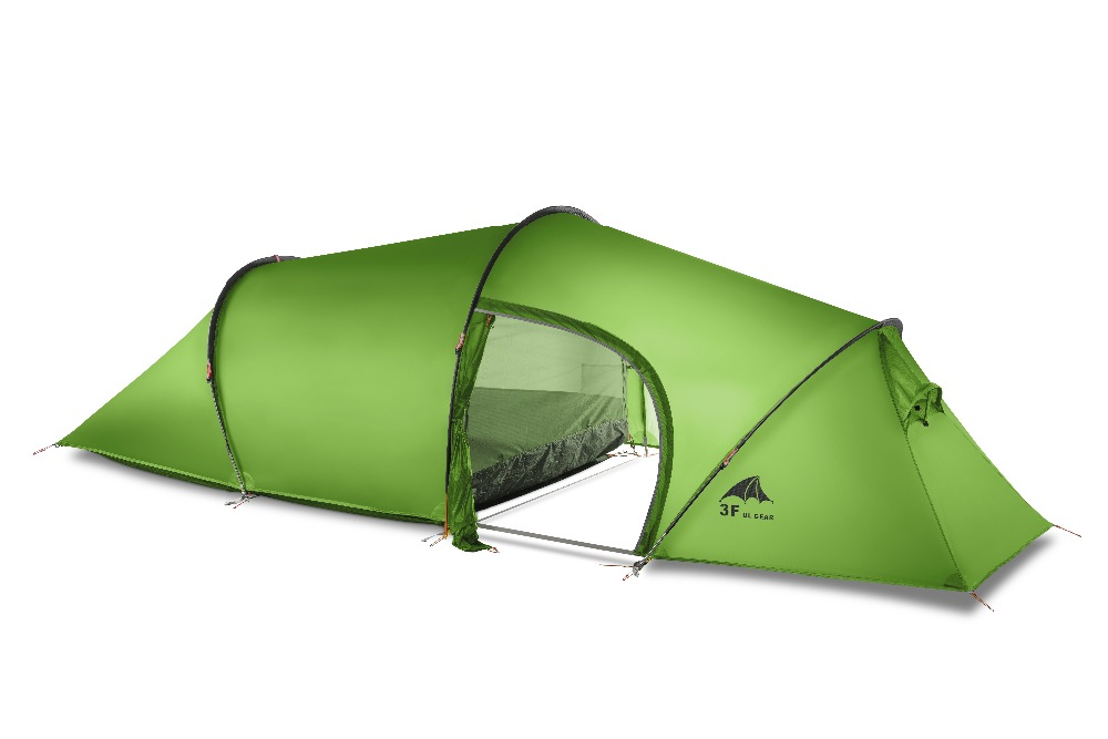 3f Ul Gear 2 Person 4 Season Tunnel Tent Outdoor C&ing Hiking Ultralight Large Space Tents-in Tents from Sports u0026 Entertainment on Aliexpress.com ...  sc 1 st  AliExpress.com & 3f Ul Gear 2 Person 4 Season Tunnel Tent Outdoor Camping Hiking ...