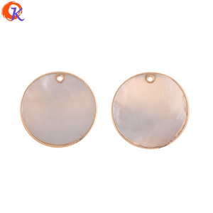 Image 1 - Cordial Design 30*30MM 20Pcs Jewelry Accessories/Hand Made/Natural Shell/DIY Earrings Making/Charms/Jewelry Findings Component