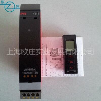 PR4114/PR4116+PR4501 multi-function isolation signal converter and front end displayPR4114/PR4116+PR4501 multi-function isolation signal converter and front end display