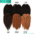 14,18,22 inch Havana Mambo Twist Crochet Braid Hair extensions 80g/pack 2X Senegalese Mambo Freetress Twist Braids Hair 12 roots