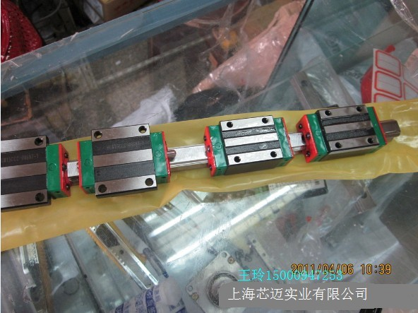 100% genuine HIWIN linear guide HGR45-2100MM block for Taiwan 100% genuine hiwin linear guide hgr45 150mm block for taiwan