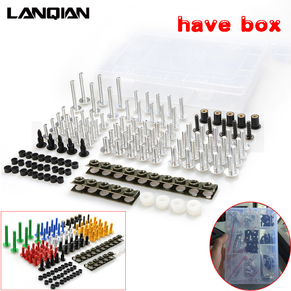 Hot Universal Motorcycle Fairing Body Bolts Spire Screw Spring Nuts 1002 Bmw R11 Motorcycles Fuse Box Diagram For R1200s R1200st R1150rt F650cs R1100s R1150r S1000rr In Covers Ornamental