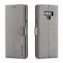 Роскошный кожаный чехол-бумажник для samsung Galaxy Note 9, чехол, чехол для samsung Note 9, чехол для телефона, сумка для Galaxy Note 9, чехол-книжка