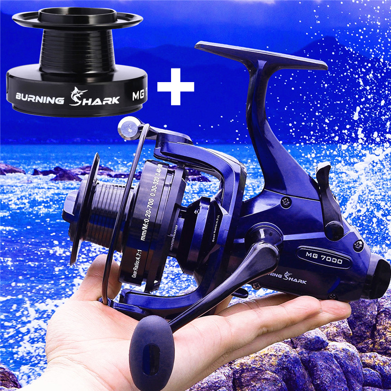 High Reel Spinning Carp with Quality Sougayilang Wheel 2 Fishing Spool Reels Kinds Professional 5